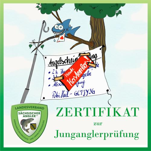 Petri Heil - Zertifikat zur Angler-Prüfung