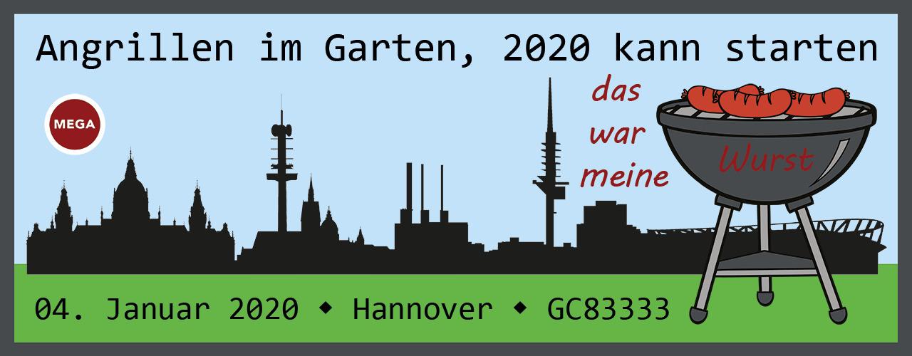 Angrillen im Garten, 2020 kann starten