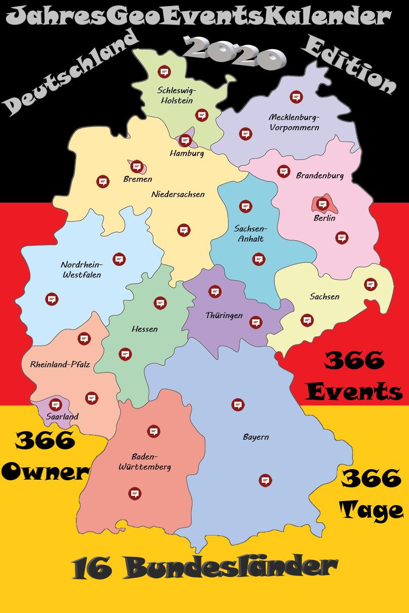 JahresGeoEventsKalender 2020 Deutschland